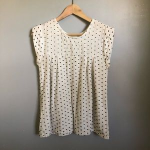 Ace&Jig paz top in pearl